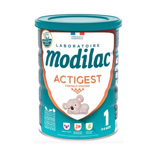 Modilac Expert actigest lait 0 à 6 mois 800g