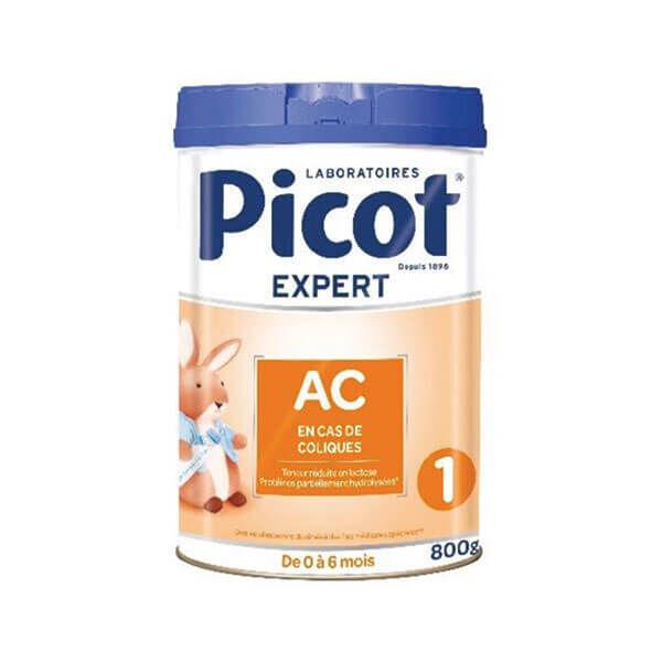 Picot Lait 1er âge AC 0 à 6 mois 800g