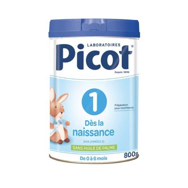 Picot Lait 1er age de 0 à 6 mois 800g