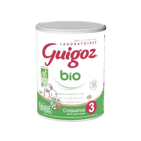 Guigoz Bio lait 3ème âge 800g