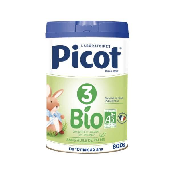 Picot 3 lait de croissance bio 800g