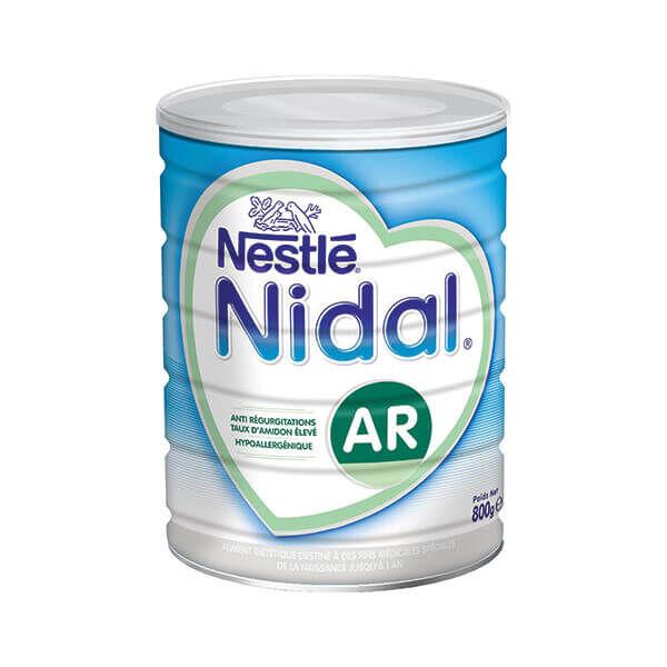 NestlÉ health science Nidal AR lait 1er âge 800g