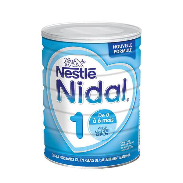 NestlÉ health science Nidal lait 1er âge 800g