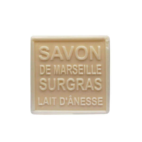 Mkl green nature Savon de Marseille lait d'ânesse 100g