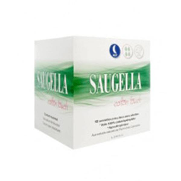 Saugella Cotton touch serviettes hygiéniques nuit 12 sachets