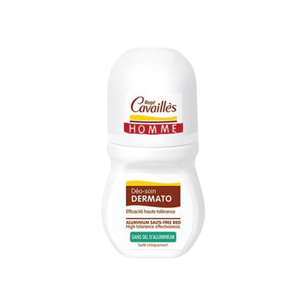 RogÉ cavailles Homme déodorant dermato anti-odeurs 48h roll-on 50ml