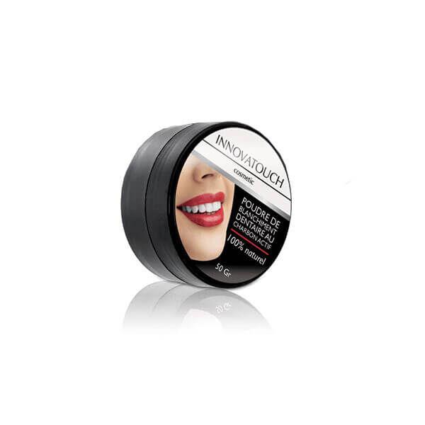 Innovatouch Poudre de blanchiment dentaire au charbon actif 50g