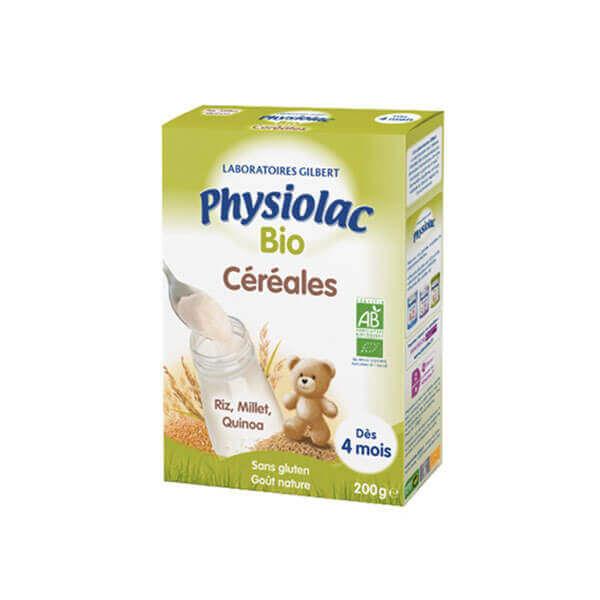 Physiolac Bio céréales 200 g