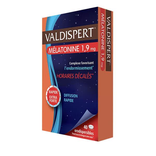 Valdispert Mélatonine 1,9mg 40 comprimés orodispersibles