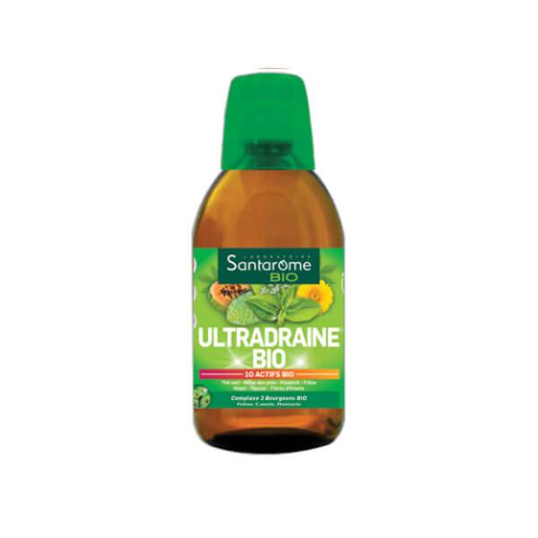 Santarome Bio ultradraine goût thé vert citron 500ml