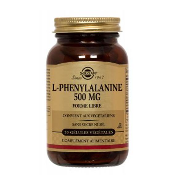 Solgar L-phénylalanine 50 gélule...