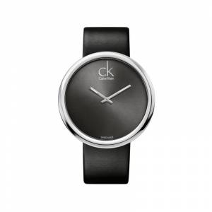 CALVIN KLEIN Montre MATY - Montre Clavin Klein dame acier bracelet noir -