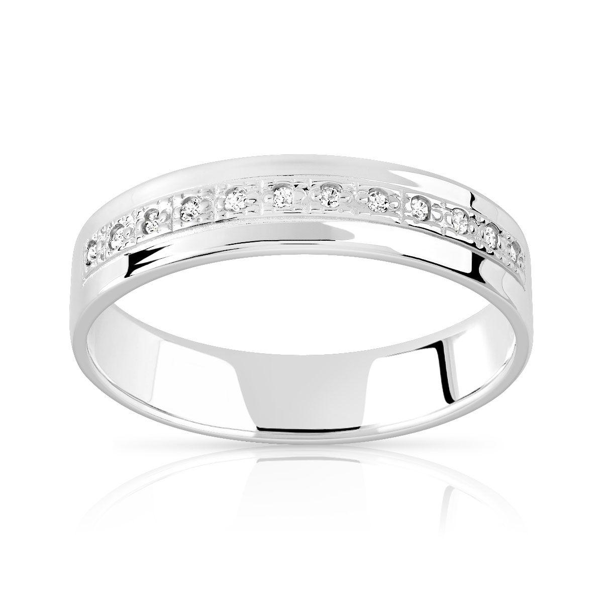 MATY Alliance argent diamants - 47-48,49-50,51-52,53-54,55-56,57-58,59-60