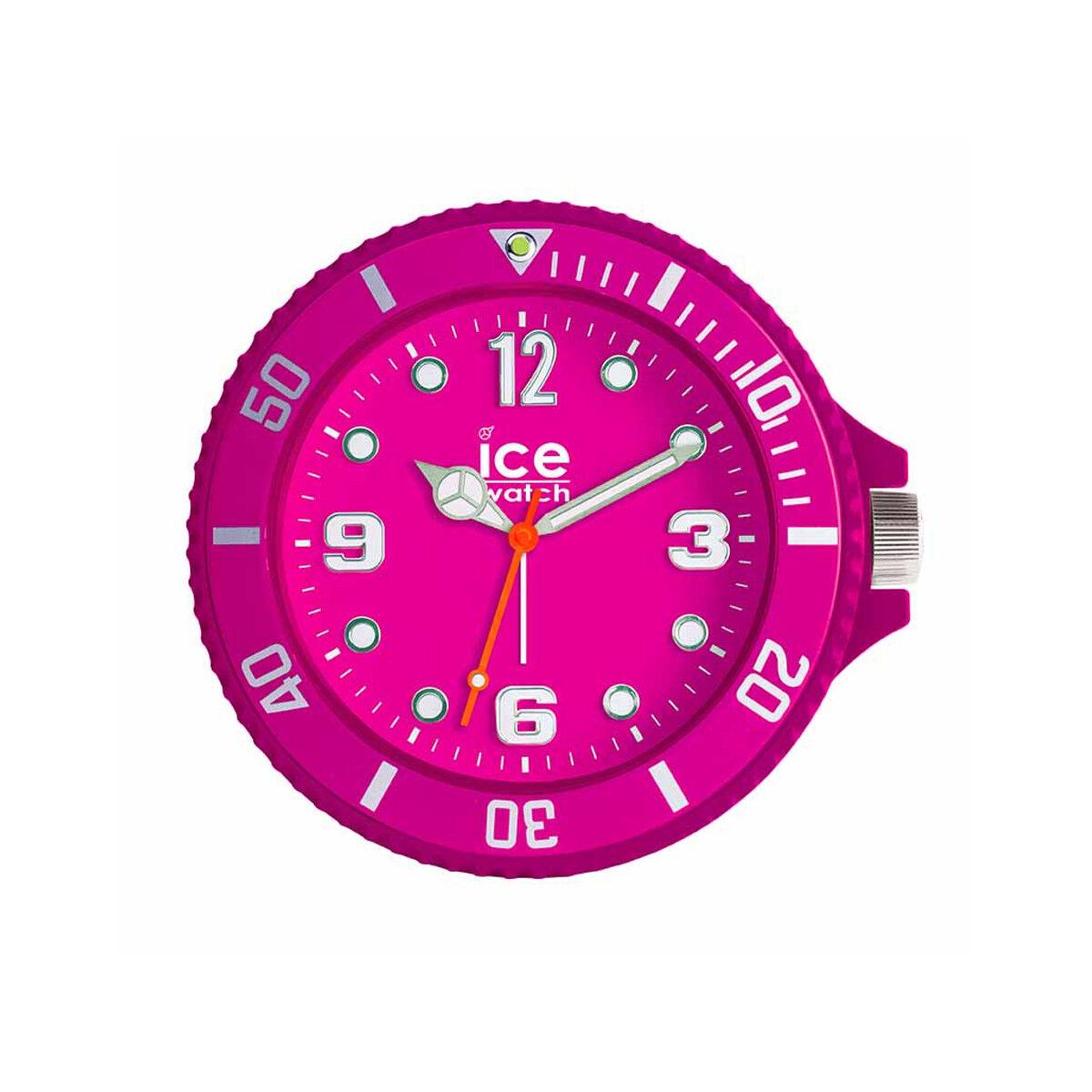 ICE WATCH Reveil Ice Watch plastique rose- MATY
