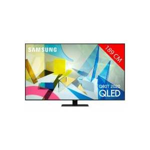 Samsung TV QLED 4K 189 cm SAMSUNG 75Q80T 2020 - Publicité