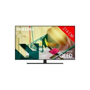 Samsung TV QLED 4K 214 cm SAMSUNG 85Q70T 2020 - Publicité