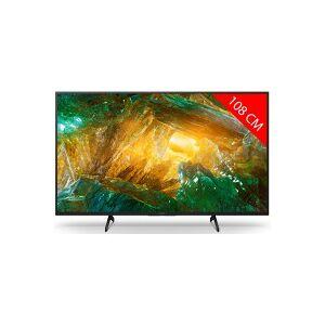 Sony TV LED 4K 108 cm SONY KD 43 XH 80 96 BAEP - Publicité