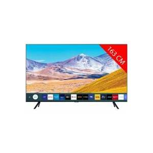 Samsung TV LED 4K 163 cm SAMSUNG UE 65 TU 80 75 - Publicité