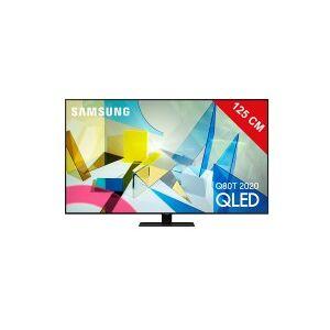 Samsung TV QLED 4K 125 cm SAMSUNG QE50Q80T - Publicité