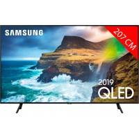 samsung tv qled 4k 207 cm samsung qe82q70r - full led silver - hdr 1000 - smart tv