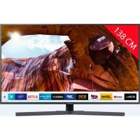 samsung tv led 4k 138 cm samsung ue 55 ru 74 05- hdr 10+ - smart tv