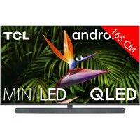 TCL TV LED 4K 165 cm TCL Barre de son intégrée 65X10