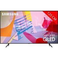 Samsung TV QLED 4K 125 cm SAMSUNG 50Q60T 2020