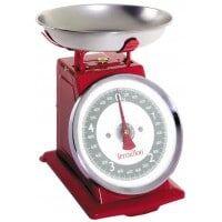 TERRAILLON Balance de cuisine TERRAILLON TRADITION 500 Rouge