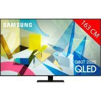 Samsung TV QLED 4K 163 cm SAMSUNG QE 65Q80T 2020