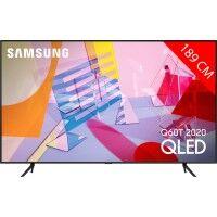 Samsung TV QLED 4K 189 cm SAMSUNG 75Q60T 2020