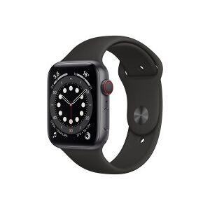 Apple Montre connectée APPLE APPLE WATCH S6 44 SG AL BLK SP CEL-BNL - Publicité