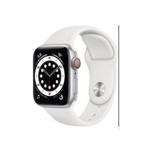 Apple Montre connectée APPLE M06M3NF/A Apple Watch Series 6 GPS + Cellular whit - Publicité