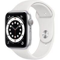 Apple Montre connectée APPLE APPLE WATCH S6 44 SIL AL WT SP GPS-BNL
