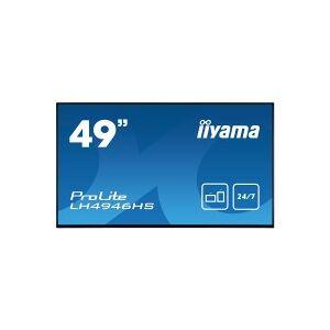 IIYAMA Ecran 49 pouces Full HD IIYAMA ProLite LH4946HS-B1 Android OS interactif intégré - Publicité