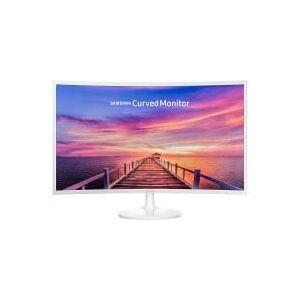 Samsung Ecran 32 pouces Full HD SAMSUNG C32F391F Full HD 4ms Blanc - Publicité