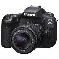 Canon Appareil photo numérique reflex CANON EOS 90D Kit + EFS 18-55 mm