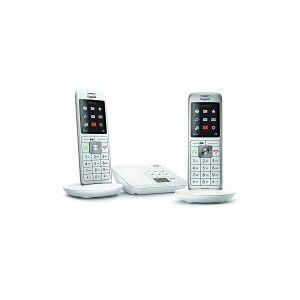 Siemens Téléphone sans fil SIEMENS GIGASET CL660A Duo blanc - Publicité