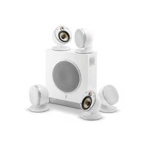 Focal-JMlab Pack d'enceintes Home Cinema FOCAL DOMEFLAX5.1WHT - Publicité