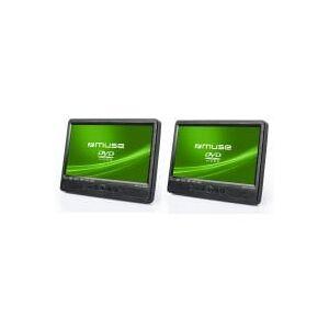 MUSE Lecteur DVD portable MUSE M1095CVB - Publicité