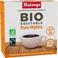 MALONGO Café MALONGO Café Pur Matin Bio - 16 dosettes