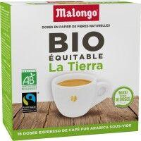 MALONGO Café MALONGO Café Déca aqua Bio - 16 dosettes