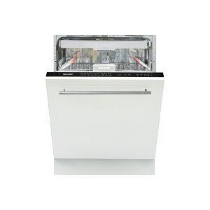 Sharp Lave vaisselle tout integrable 60 cm SHARP QW-HD46I44AX 3eme tiroir 15 couverts 60 cm - Publicité