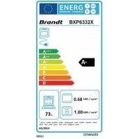 Brandt Four encastrable pyrolyse BRANDT BXP6332X