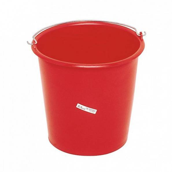 ProSignalisation 5x Seau rond de ménage 12 litres