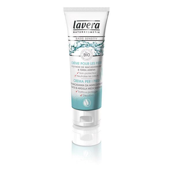 Eyeslipsface basis sensitiv Crème pour les pieds - LAVERA (0000) 75