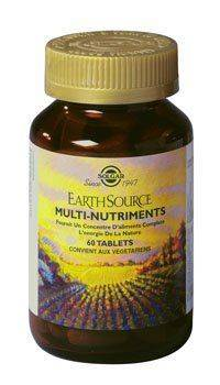 "Eyeslipsface ""Earth Source multi nutriments - 60 tablets - SOLGAR (0000) 60"""