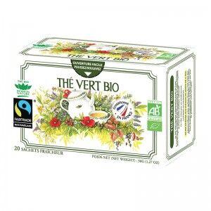 "Eyeslipsface ""Tisane simple thé vert Bio - 20 sachets - ROMON NATURE (00519105) 20"""