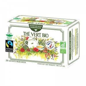 "Eyeslipsface ""Tisane simple thé vert Bio - 20 sachets - ROMON NATURE (00519105) 20"""