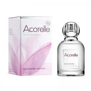 """Eyeslipsface """"Eau de parfum Divine Orchidée Bio - 50 ml - ACORELLE (00631340) 50"""""""