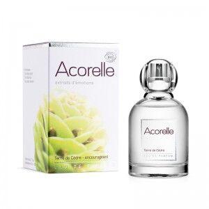 """Eyeslipsface """"Eau de parfum Terre de Cèdre Bio - 50 ml - ACORELLE (00631360) 50"""""""